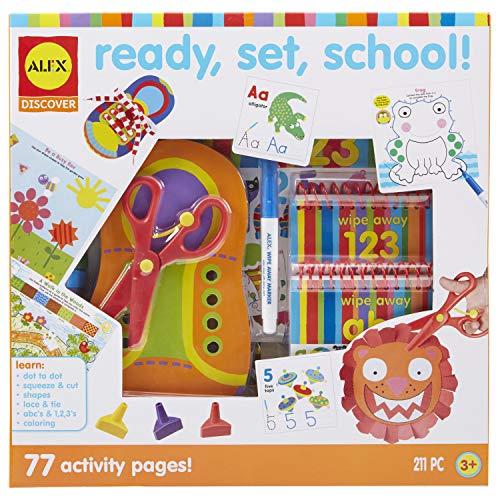 Alex Discover Ready, Set, School Craft Kit Kids Art and Craft Activity