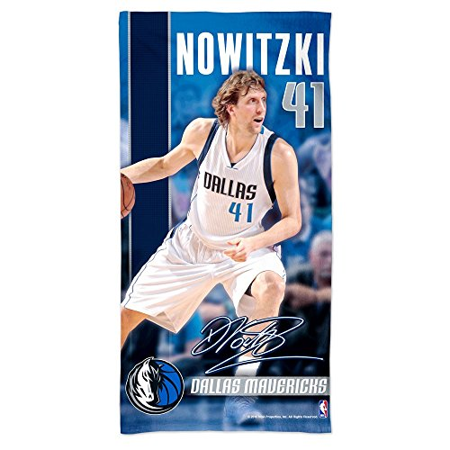 WinCraft NBA DALLAS MAVERICKS Spectra Player Strandtuch 75 cm x 150 cm