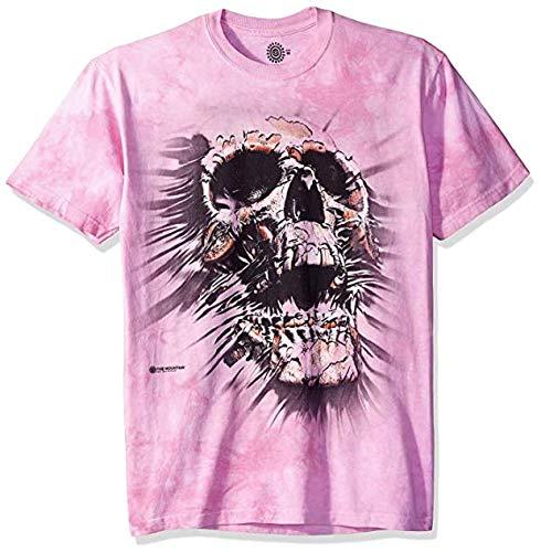 The Mountain Unisex-Erwachsene Breakthrough Skull Hemd, Rose, 4X-Large