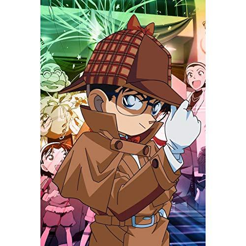 QINGQING Rompecabezas Rompecabezas Pintura 300/500/1000 Piezas de Adultos Juguetes educativos Animado Detective Conan (Size : 300)