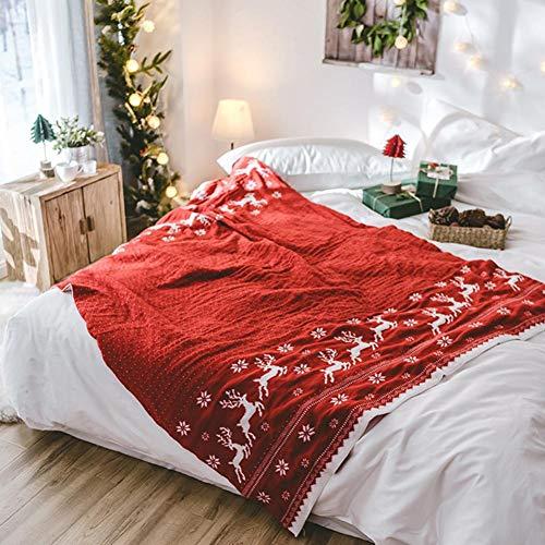 Dedeka Navidad Christmas Blanks 130x180cm Simple Deer