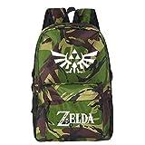 MUATE Anime The Legend of Zelda Mochila School Bookbags Laptop Boys Girls Daily Pack Gift, Style 5