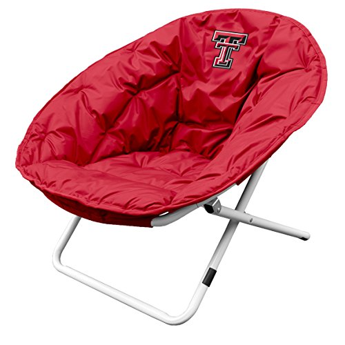 Logo Brands NCAA Texas Tech Red Raiders Sphere Chair, One Size, Team Color