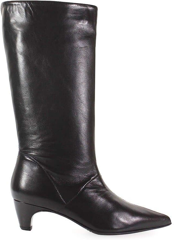 ETTORE LAMI Women's EL25004 Black Leather Boots