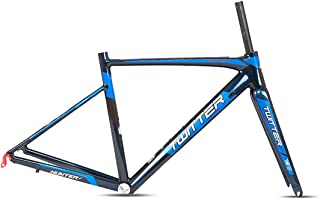 C4 Aluminum Alloy AL7005 Aero 700C Road Bike Frame Carbon Fork Carbon Seat Post 46 48 50 52Cm Road Bicycle Frameset,48cm