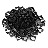 100Pcs 18650 Lithium Battery Holder, Plastic Battery Pack Bracket Cylindrical Cell Battery Stand Cell Spacer for DIY Fixed Battery