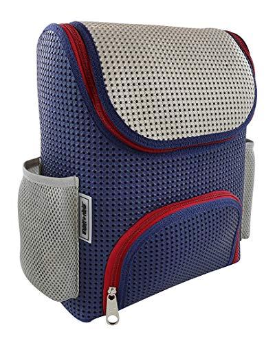 Light+Nine Customizable Student Ergonomic School Backpack (American Blue)
