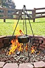 Lodge Camp Dutch Oven Tripod, 43.5-Inch, Black #2