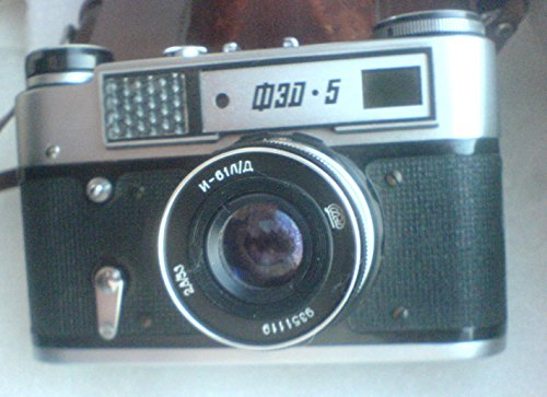 FED-5 USSR Soviet Union Russian 35 mm Rangefinder film camera Industar-61 L/D Lens