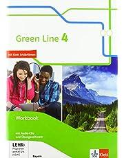 Green Line 4. Ausgabe Bayern: Workbook mit Audio-CDs und Übungssoftware 8. Klasse (Green Line. Ausgabe für Bayern ab 2017)