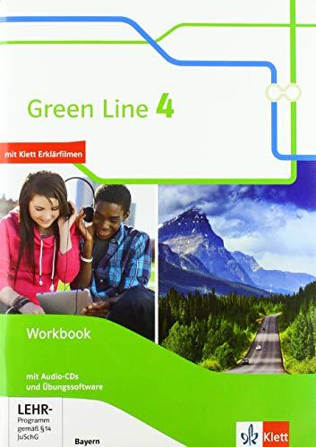 Green Line 4. Ausgabe Bayern: Workbook mit Audios und Übungssoftware 8. Klasse (Green Line. Ausgabe für Bayern ab 2017)