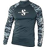 SCUBAPRO Rash Guard Langarm Herren Slim Fit UV-Shirt UV Schutz