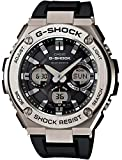 カシオ 腕時計 ジーショック G-STEEL 電波ソーラー GST-W110-1AJF ブラック