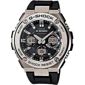 """[カシオ] 腕時計 ジーショック G-STEEL 電波ソーラー GST-W110-1AJF ブラック"""""""