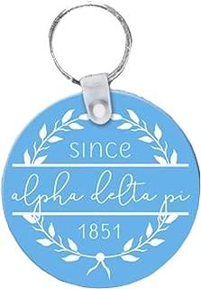 Alpha Delta Pi Since Established Keyring