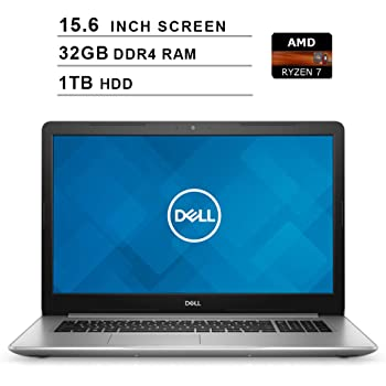Amazon Com Dell 2020 Inspiron 15 5000 15 6 Inch Fhd 1080p Laptop Amd Ryzen 7 2700u Up To 3 8 Ghz 16gb Ram 2tb Hdd Amd Radeon Rx Vega 10 Bluetooth Wifi Hdmi Windows 10 Silver Computers Accessories