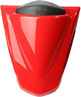 Motorcycle Parts Rear Passenger Pillion Seat Cover Cowl Pad Hard ABS Motorbikes Fairing Tail Cover For Kawasaki Ninja 250R ZX250R EX250 ZX 250 R 2008 2009 2010 2011 2012 (Red)