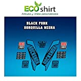 Ecoshirt O0-PRX4-EYKU Autocollants Stickers Fork Rock Shox Xc32 2017 Am122...