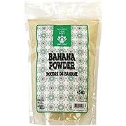 Dinavedic Pure Green Banana Powder - 454g (1 Lb) | Green Banana Flour, Great for Baking, Nutritional Boost for Smoothies, Thicken Gravy or Sauce