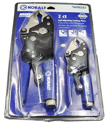 Kobalt 2 Ct Self-Adjusting Locking Pliers