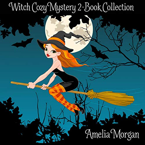 Witch Cozy Mystery 2-Book Collection cover art