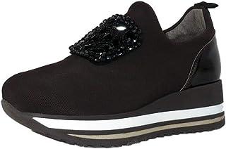 Cinzia Soft IAB1A3638 Chaussures de sport en tissu avec perles