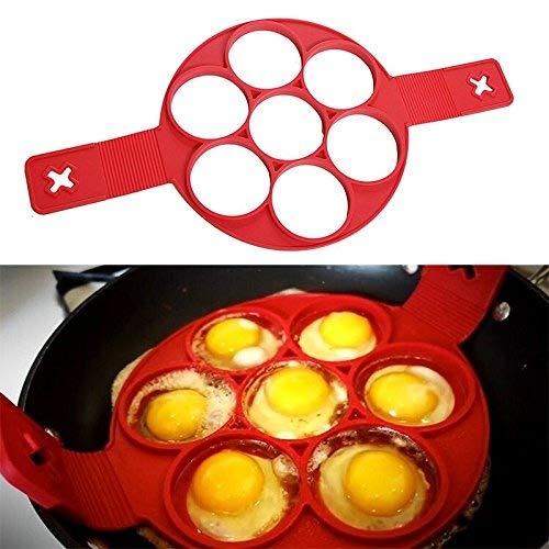 1antihaftbeschichtet Kochen Werkzeug Ei Ring Maker Perfekte Pfannkuchen Eierkocher, Käse Pfanne Flip Eier Form Küche Backen Zubehör