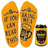 Voqeen Calcetines Divertidos Calcetines de Algodon Cerveza de Otoño y Invierno Unisex Mujer Hombre Divertidos Calcetines
