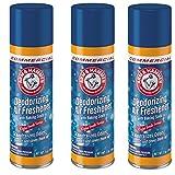 Arm & Hammer 3320094170 Baking Soda Air Freshener, Aerosol, Light Fresh Scent, 7oz (3)