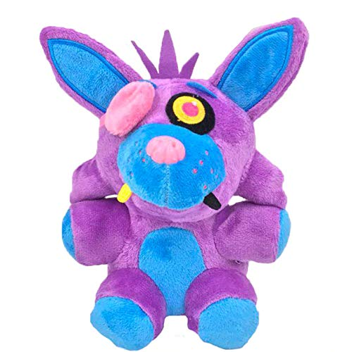 Five Nights at Freddy's Purple Phantom Foxy FNAF Plush 7' || US Stock