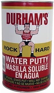 Donald Durhams 076694000046 4-Pound Rockhard Water Putty by Donald Durham
