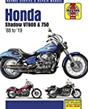 Honda Shadow VT600 & 750 - '88 to '19: - Model history - Pre-ride checks - Wiring diagrams - Tools and workshop tips (Haynes Service & Repair Manual)