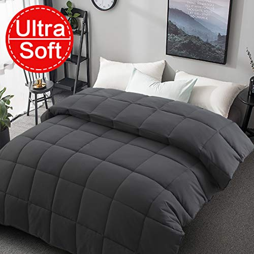 Soft Smooth King Size Comforter All Seasons 2000 Series Luxury Light weight Quilted Down Alternative Summer Breathable Comforters Duvet With...