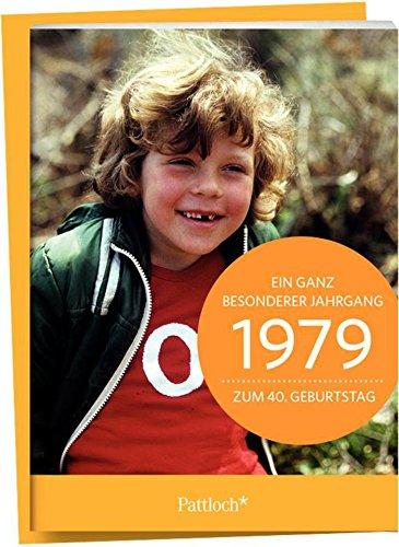 1979 - Ein ganz besonderer Jahrgang - Zum 40. Geburtstag: Jahrgangs-Heftchen mit Kuvert