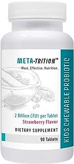 Metatrition Kids Chewable Probiotic Nutritional Supplements, 90 Count