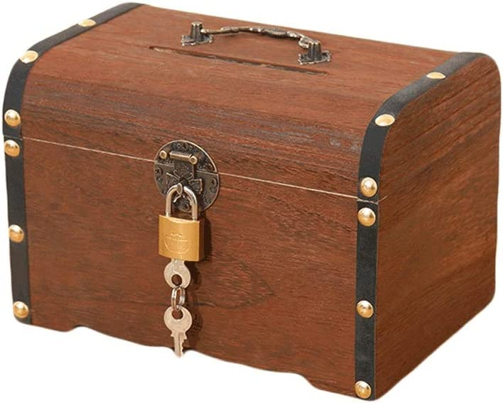Gift Money Saver Box Memphis Mall Safe Piggy Animer and price revision Lock Bank with Coin Antique