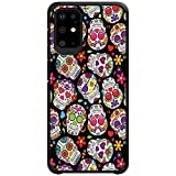 MINITURTLE Compatible with Samsung Galaxy S20 Plus (6.7) Slim Fitted Dual Layer Protective Case - Sugar Skulls