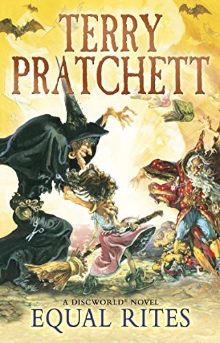 Equal Rites. Discworld #3 book cover