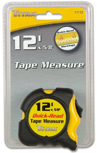 Titan 11112 12' Tape Measure