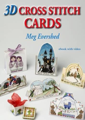 3D Cross Stitch Cards  (CD Rom Book)