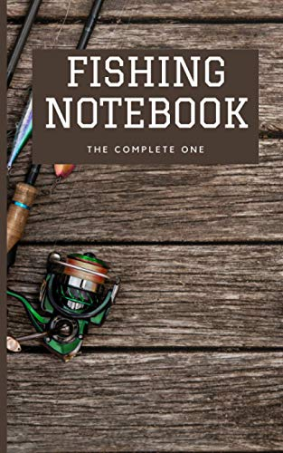 Fishing Log Notebook: Write all your fishing experience here with more than 200 pages, fit in pocket.