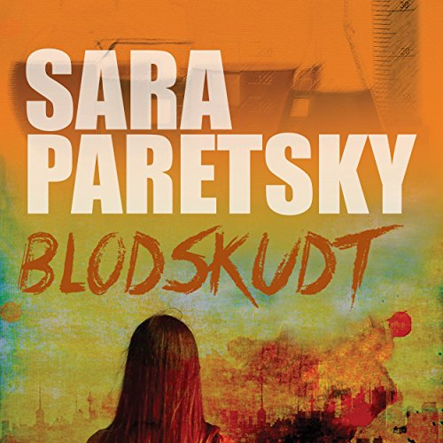 Blodskudt audiobook cover art