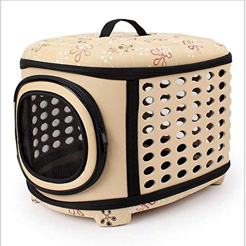 FTFDTMY Tragbare Hunde Katzen Bag Outdoor TravelingPet Carrier-BagPet Hand Kennel Housepet Produkte, C (Farbe: C) (Color : A)