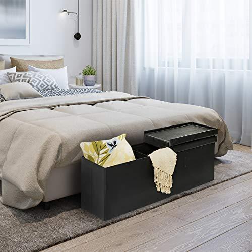 Seville Classics Bench 110 x 45 x 45 cm