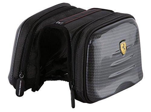 Ferrari Bike Cycling, Mountain Road, Bicycle Wrapping, Rear Seat Bag, Carbon, Front Frame Saddle Bag, Trunk Pannier Bag.