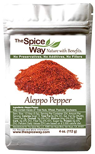 The Spice Way - Premium Aleppo Pepper |4 oz.|