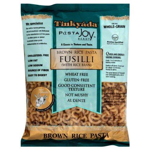 Tinkyada Super popular specialty store Fusilli Brown Rice Oz favorite 48x 16 Pasta