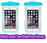 Ionix Pack of 2 Mobile Virus Protection Pouch, Save Mobile from Virus, Waterproof