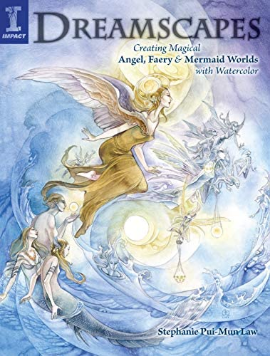Dreamscapes Creating Magical Angel Faery Mermaid Worlds In Watercolor product image
