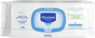 Mustela Cleansing Wipes Fragranced - for Normal Skin, x70
